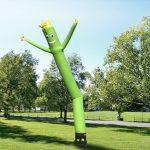 Zelený tanečník